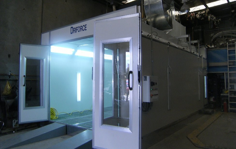 Spray Booth Image Gallery